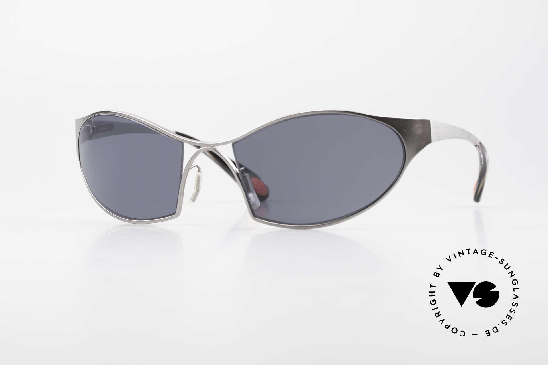 Bugatti 368 Odotype Sportliche Herren Sonnenbrille, sportliche Bugatti Sonnenbrille für Herren, Passend für Herren
