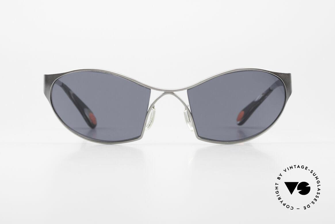 Bugatti 368 Odotype Sportliche Herren Sonnenbrille, unverwechselbares Design der Odotype-Serie, Passend für Herren