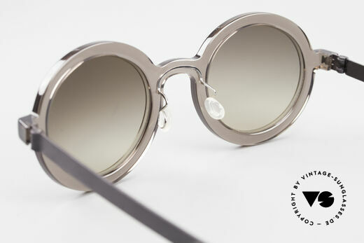 Lindberg 8570 Acetanium Oval Runde Sonnenbrille Unisex, mit high-end Zeiss Sonnengläsern (100% UV Protection), Passend für Herren und Damen