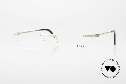 Fred Samoa Randlose Luxusbrille Segler Details