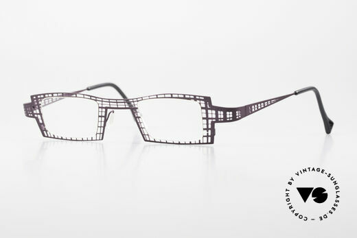 Theo Belgium Eye-Witness LH Damenbrille Vintage Designer Details