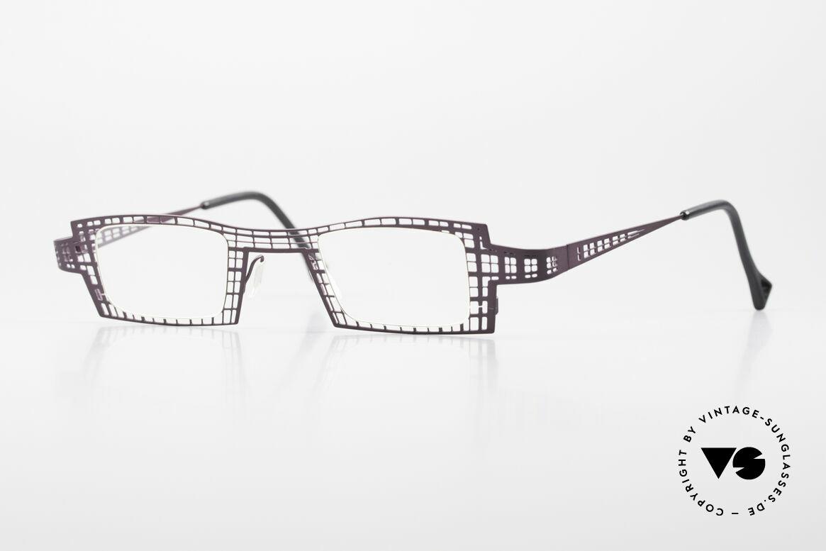 """Theo Belgium Eye-Witness LH Damenbrille Vintage Designer, THEO Belgium Damenbrille der """"Eye-Witness"""" Serie, Passend für Damen"""