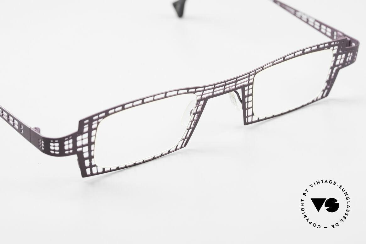 Theo Belgium Eye-Witness LH Damenbrille Vintage Designer, ungetragene Brillenfassung; abseits des Mainstreams, Passend für Damen