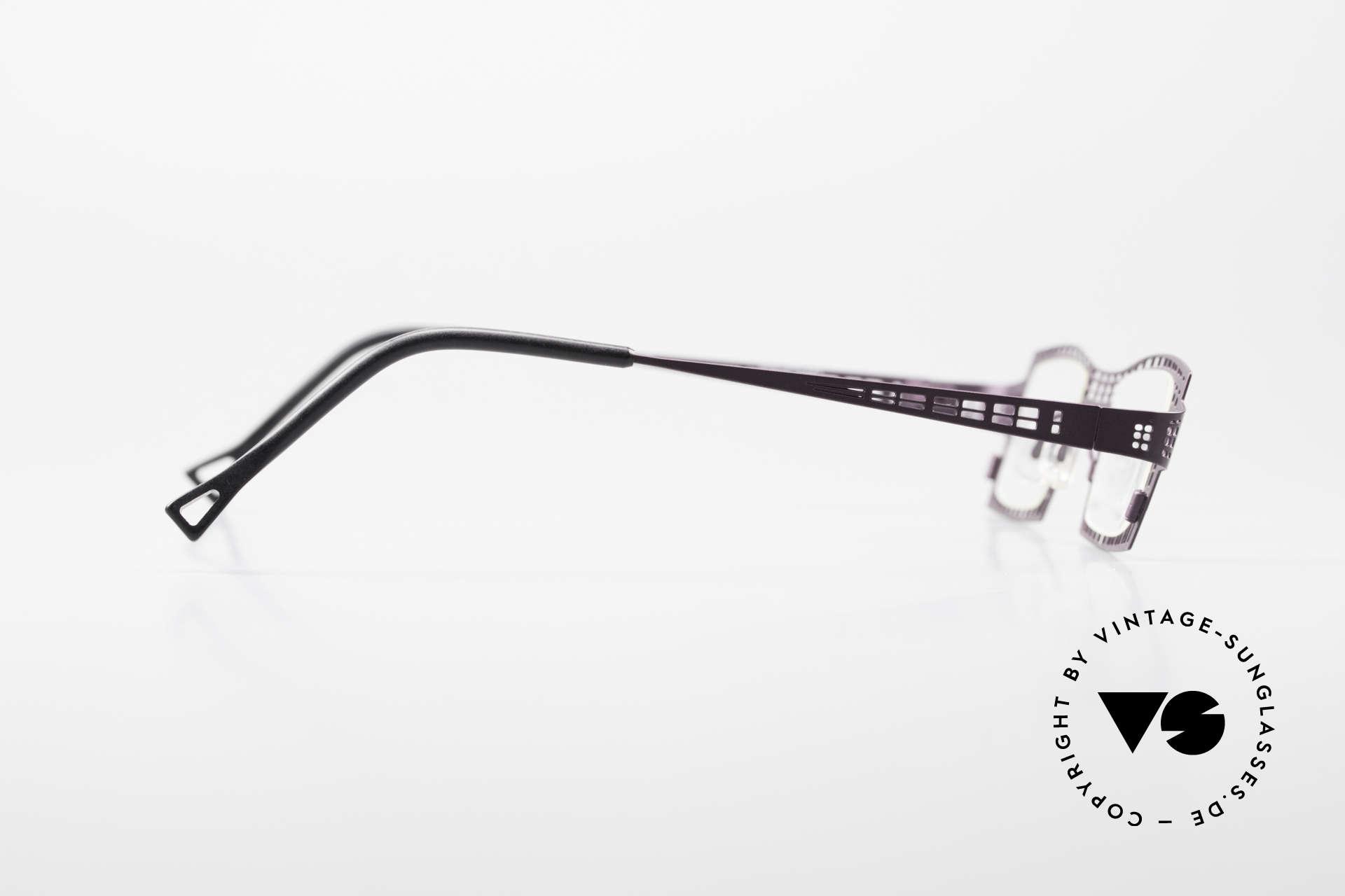 Theo Belgium Eye-Witness LH Damenbrille Vintage Designer, original DEMOgläser können beliebig ersetzt werden, Passend für Damen