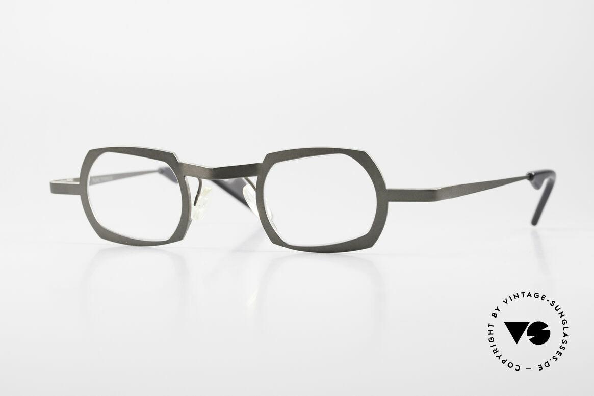 Theo Belgium Palm Beach Damen & Herren Titaniumbrille, Herrenbrille oder auch Damenbrille v. THEO Belgium, Passend für Herren und Damen
