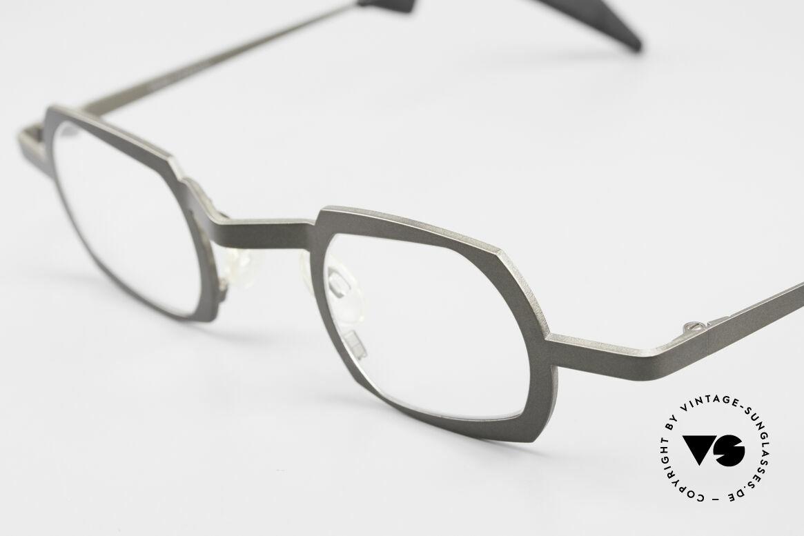 Theo Belgium Palm Beach Damen & Herren Titaniumbrille, eine ungetragene Theo-Brille für die, die sich trauen, Passend für Herren und Damen