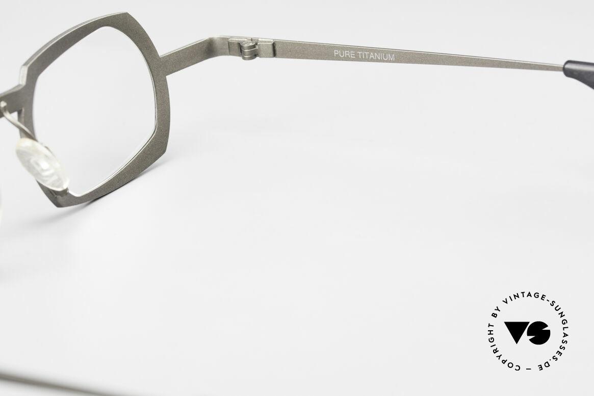 Theo Belgium Palm Beach Damen & Herren Titaniumbrille, Größe: medium, Passend für Herren und Damen