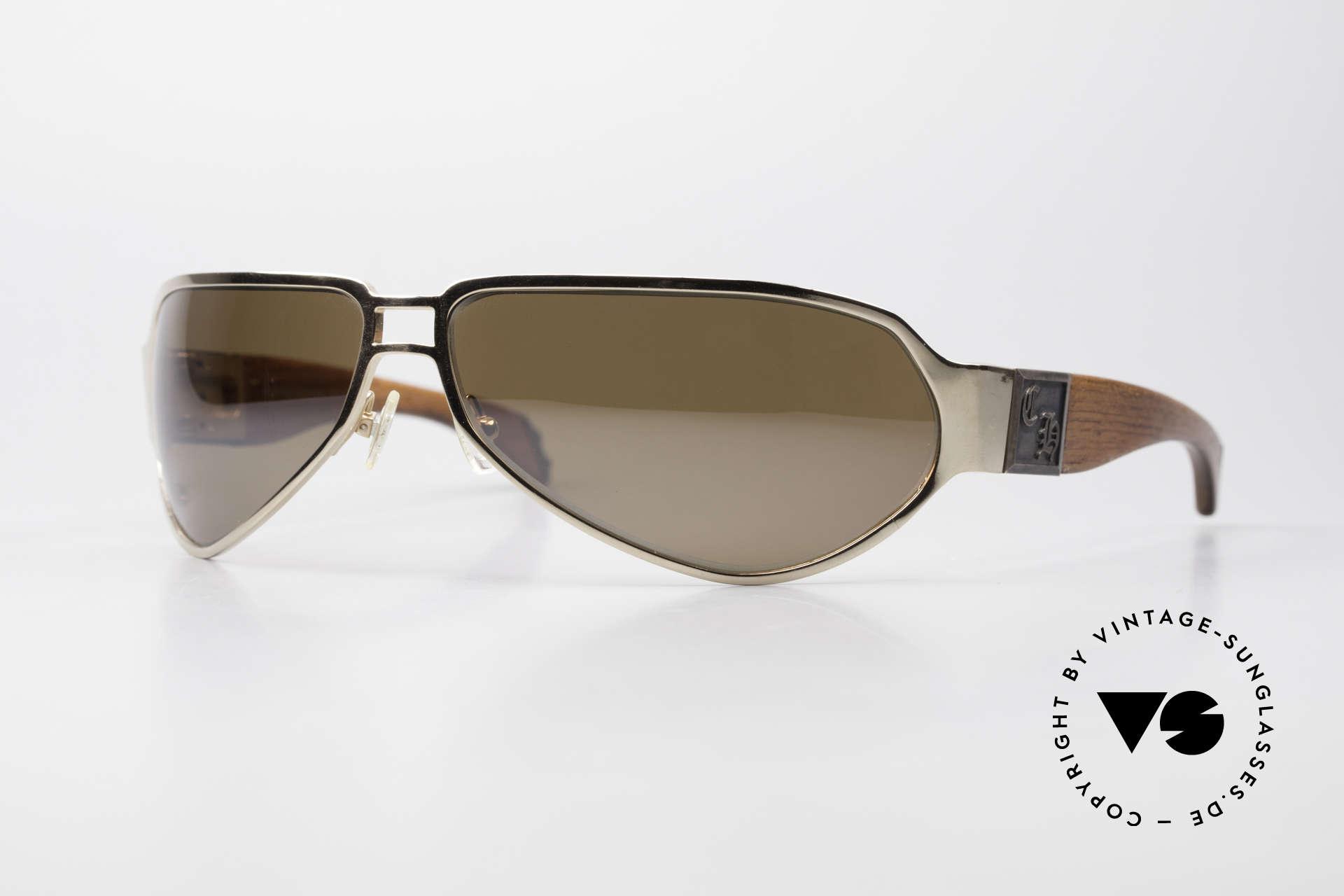 Chrome Hearts Shaft Luxus Herrenbrille Für Kenner, Chrome Hearts Sonnenbrille: SHAFT GP-WMH, Passend für Herren