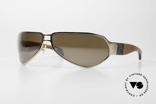 Chrome Hearts Shaft Luxus Herrenbrille Für Kenner Details