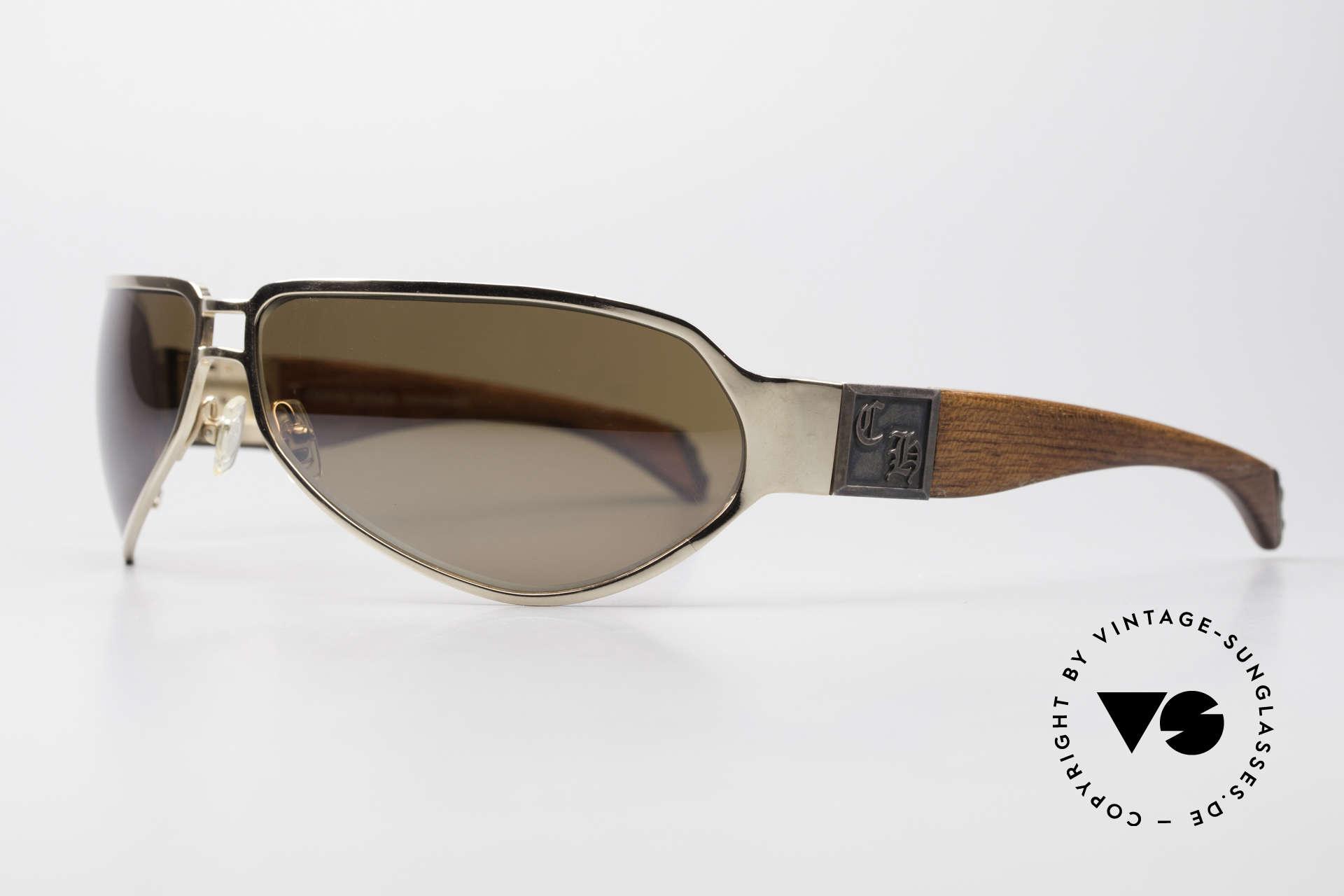 Chrome Hearts Shaft Luxus Herrenbrille Für Kenner, herausragende Handwerkskunst (made in Japan), Passend für Herren