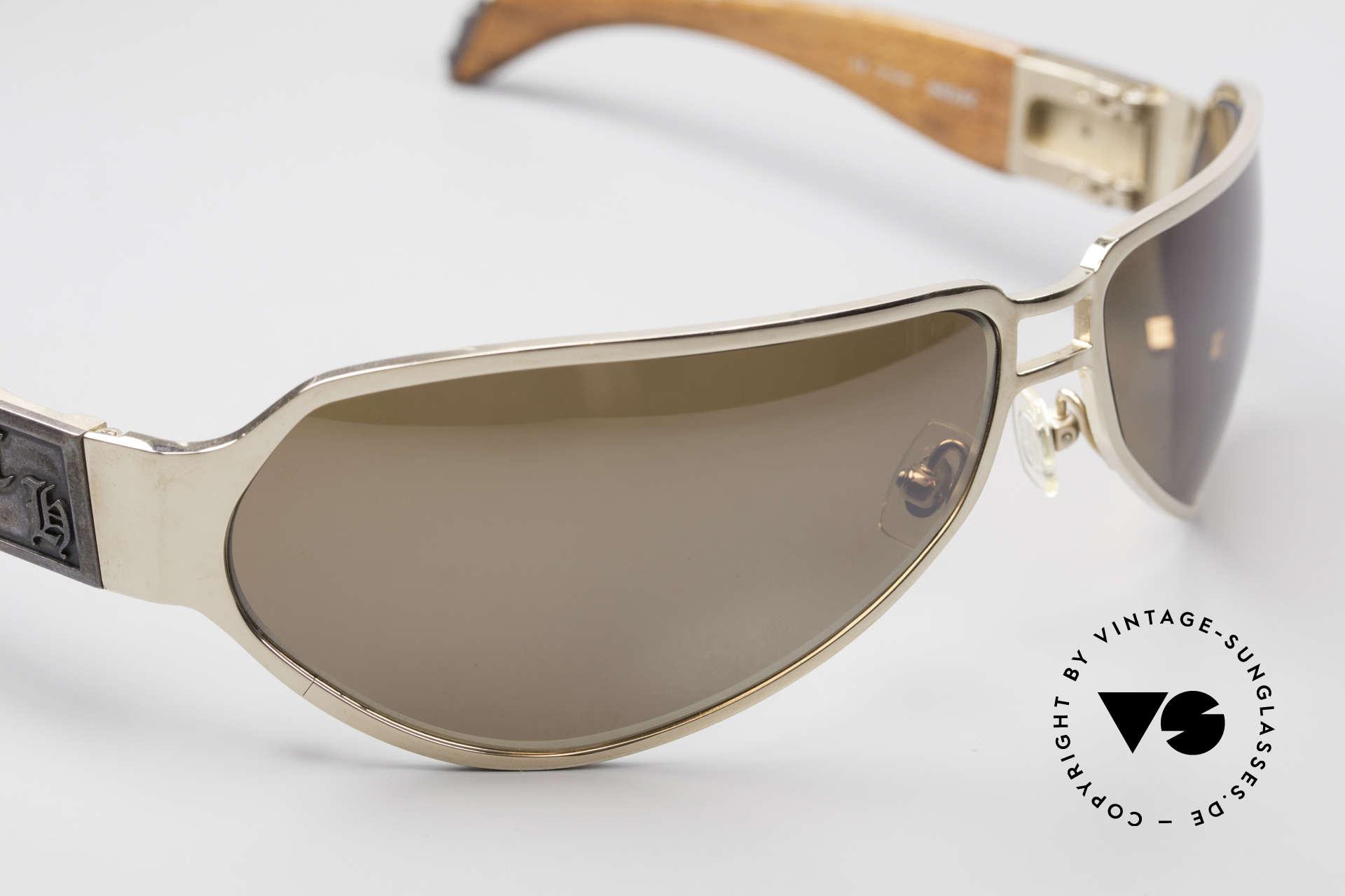 Chrome Hearts Shaft Luxus Herrenbrille Für Kenner, ungetragenes Exemplar von 2013 (eine Rarität!), Passend für Herren