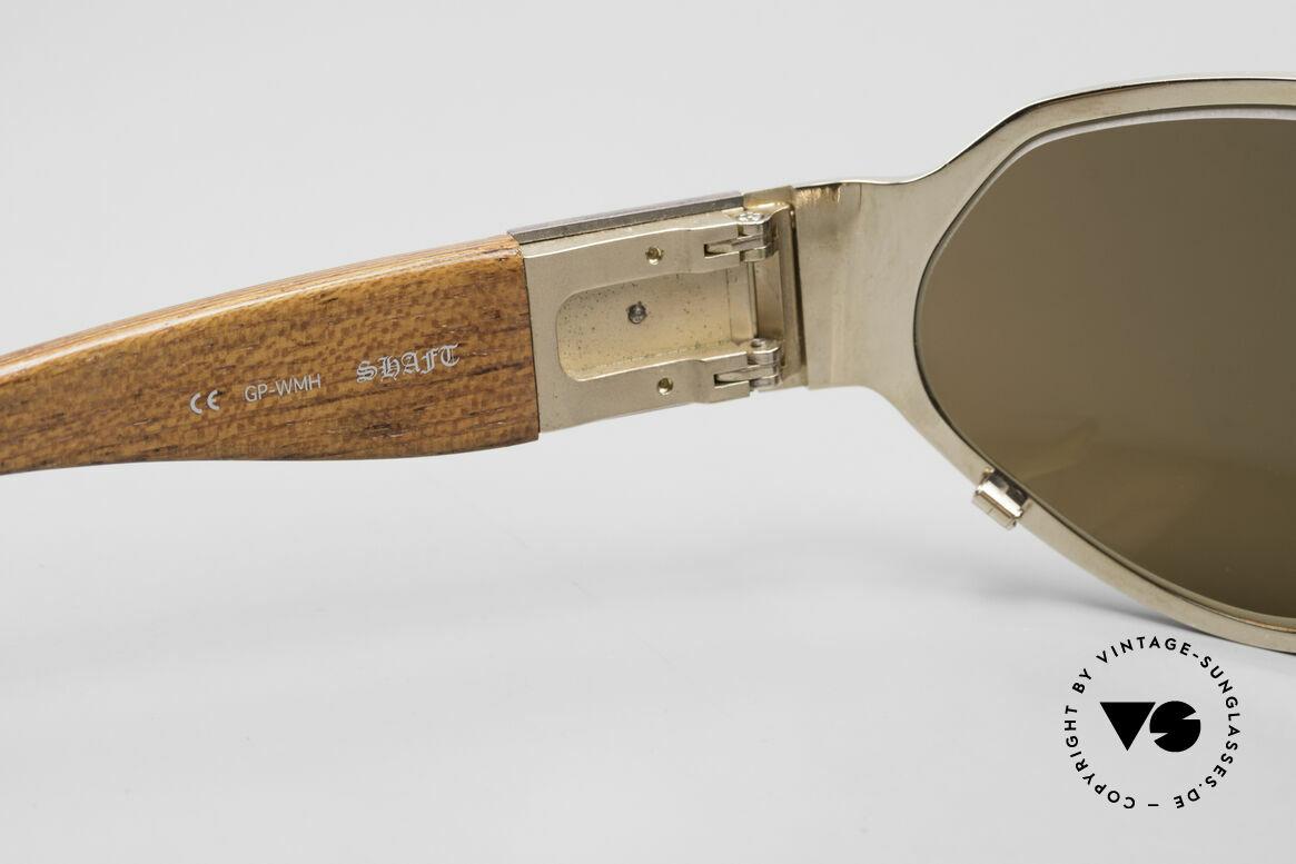 Chrome Hearts Shaft Luxus Herrenbrille Für Kenner, leicht verspiegelte Sonnengläser (100% UV prot.), Passend für Herren
