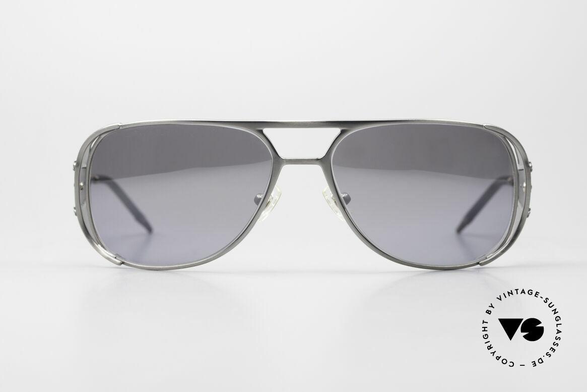 Chrome Hearts Jones Luxus Sonnenbrille Für Kenner, markante Luxus-Herrenbrille mit Seitenblenden, Passend für Herren