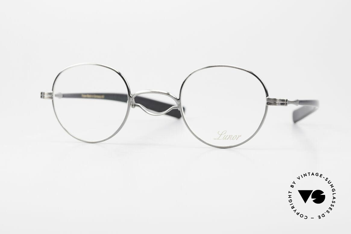 Lunor Swing A 32 Panto Rare Vintage Lunor Brille AS, original LUNOR Swing A 32 vintage PANTO Brille, Passend für Herren und Damen