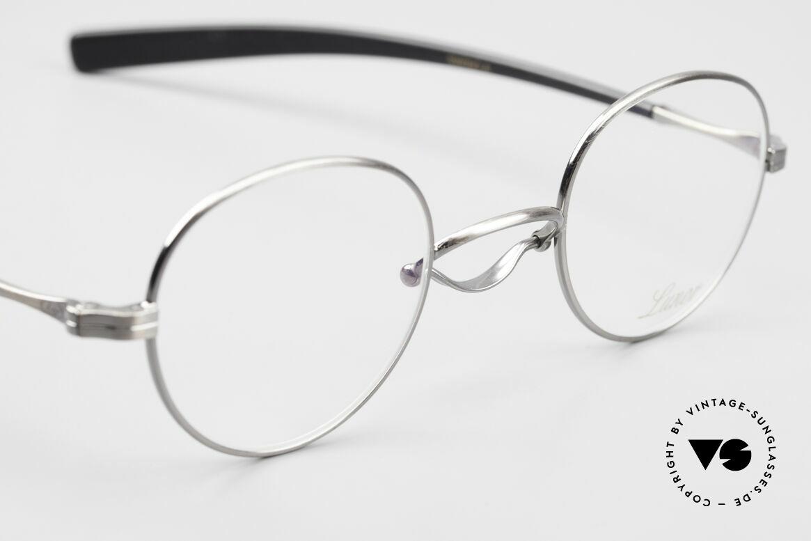 Lunor Swing A 32 Panto Rare Vintage Lunor Brille AS, ungetragen (wie alle unseren alten Lunor Klassiker), Passend für Herren und Damen