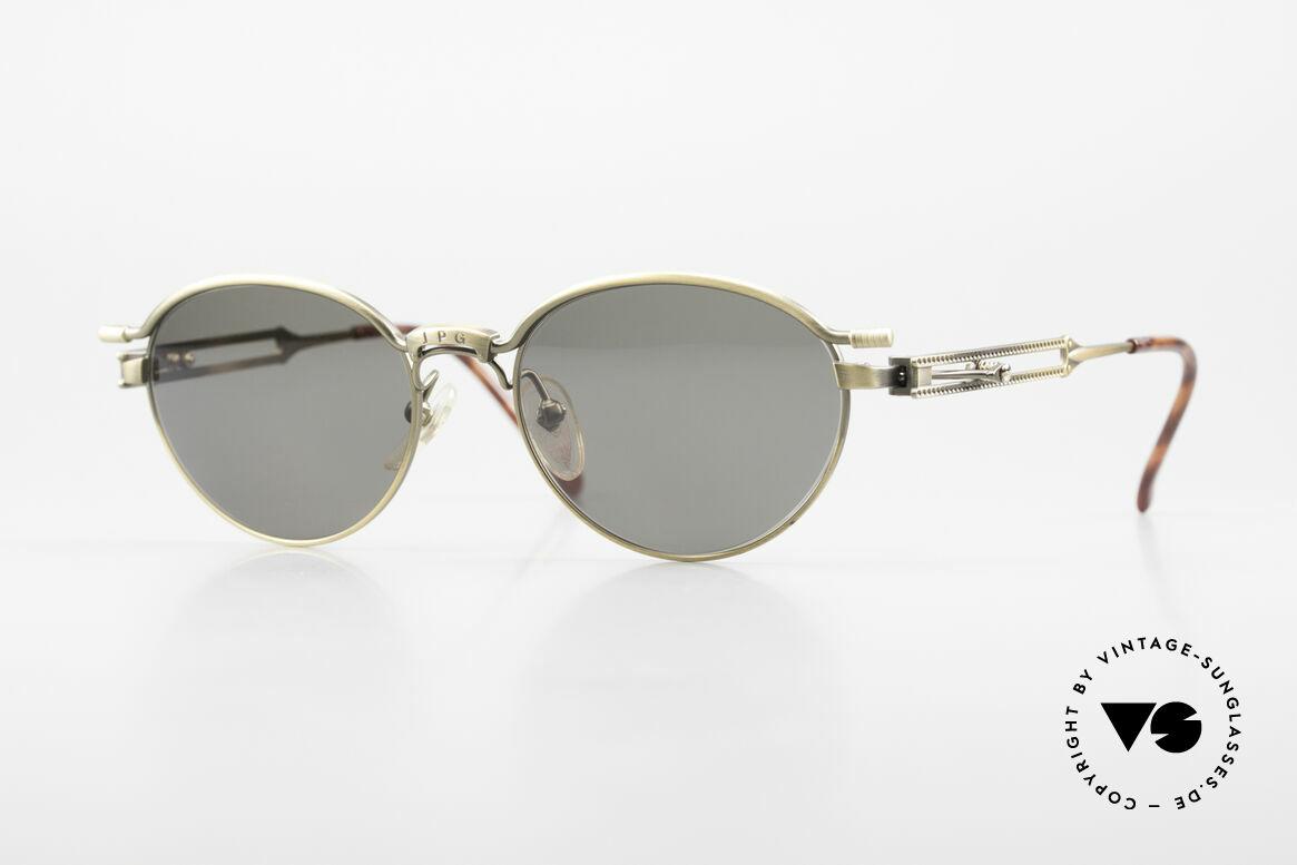 Jean Paul Gaultier 56-4172 Unisex Designerbrille 90er JPG, seltene vintage Sonnenbrille von Jean Paul Gaultier, Passend für Herren und Damen