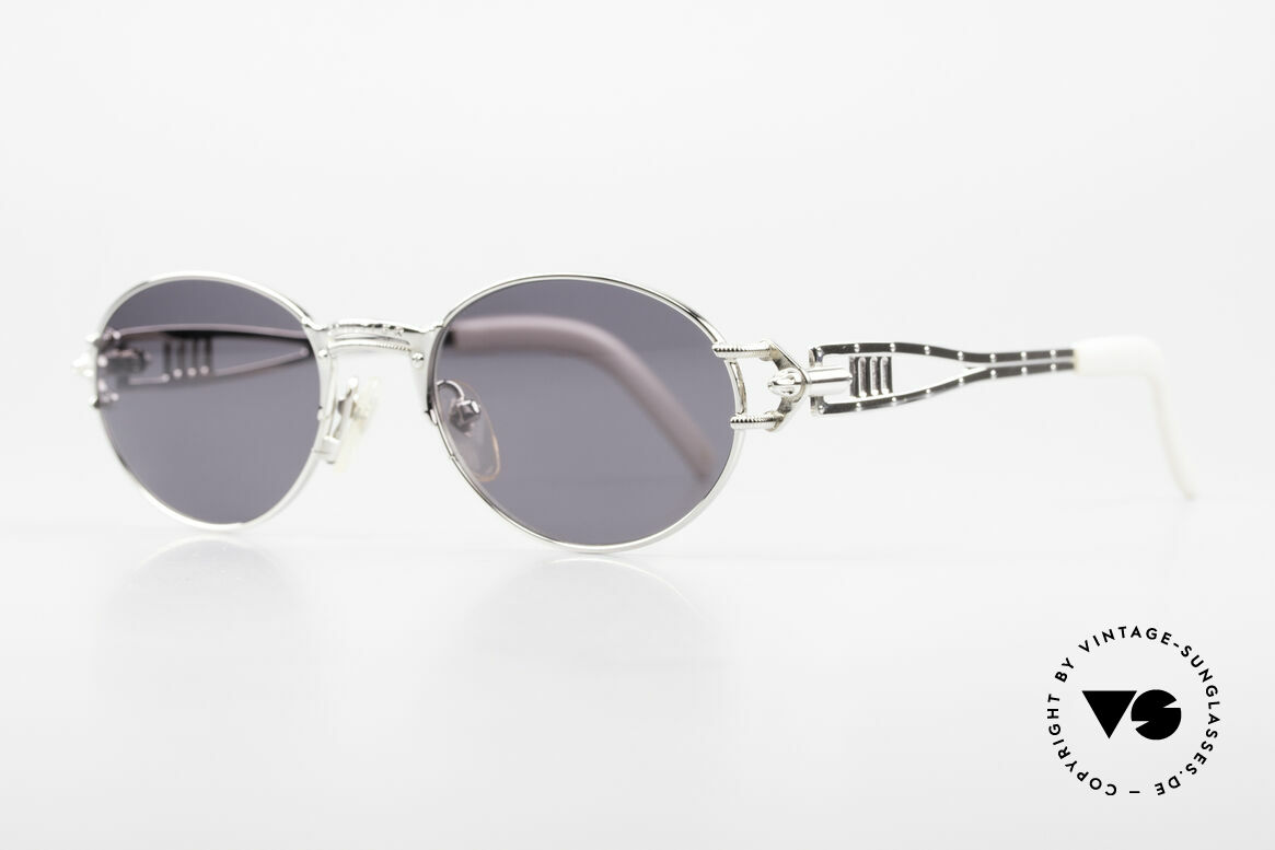 """Jean Paul Gaultier 56-6101 Kult Designerbrille Industrial, für """"Gaultier-Verhältnisse"""" eher ein schlichtes Design, Passend für Herren und Damen"""