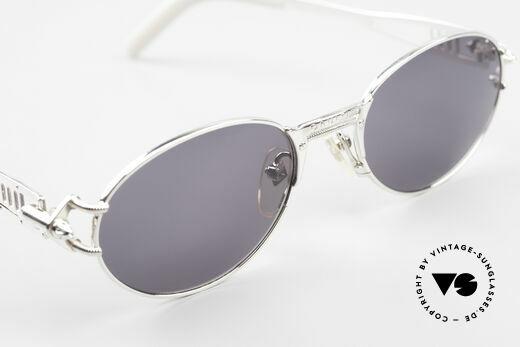 Jean Paul Gaultier 56-6101 Kult Designerbrille Industrial, KEINE Retromode; sondern ein altes Original von 1995, Passend für Herren und Damen