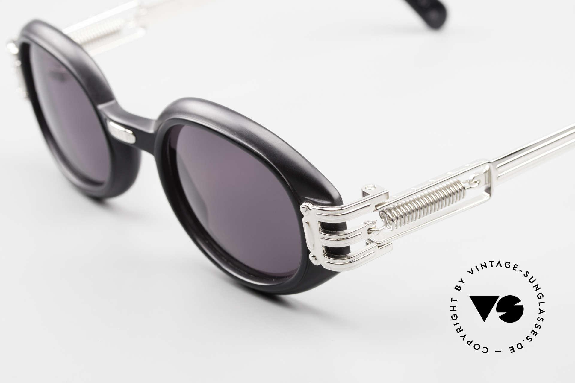 Jean Paul Gaultier 56-5203 Steampunk Sonnenbrille 90er, monumental - (scheinbar für die Ewigkeit gemacht), Passend für Herren und Damen