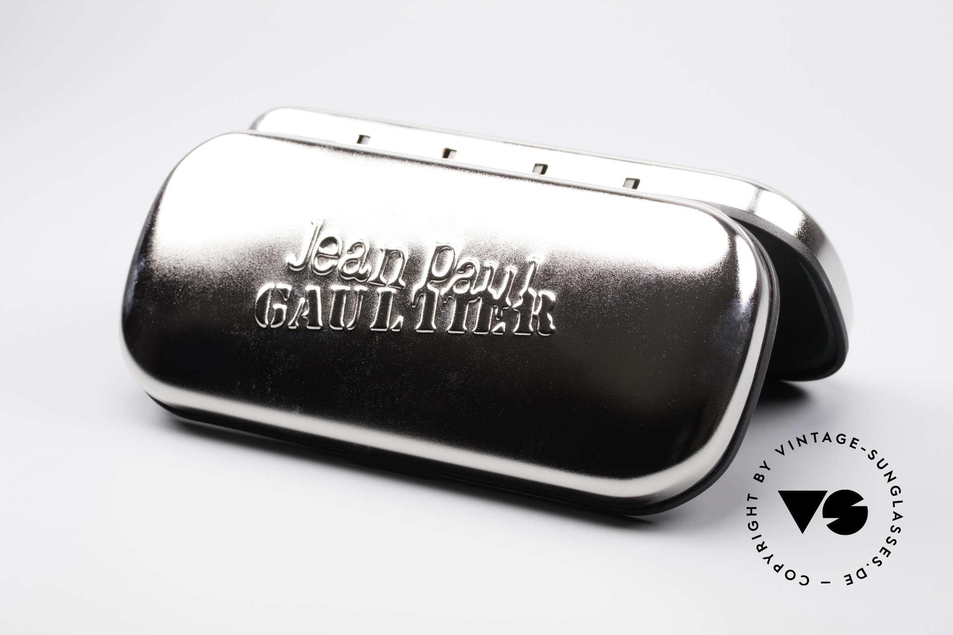 Jean Paul Gaultier 56-5203 Steampunk Sonnenbrille 90er, Größe: large, Passend für Herren und Damen