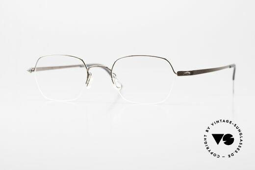 Lindberg 3043 Strip Titan Titanium Brille Damen Herren Details